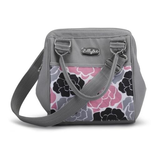 Demdaco LBIT Pink Floral Day Pack - JEN'S KIDS BOUTIQUE
