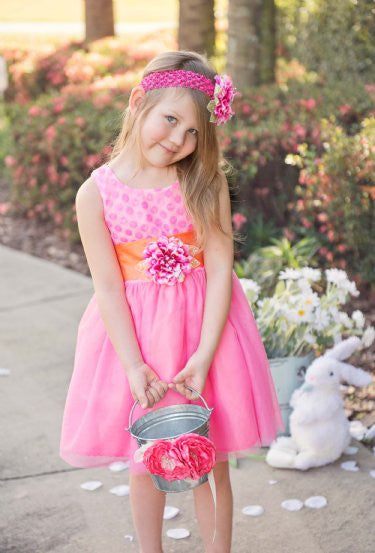 Haute Baby Perfect April Bloom Dress - JEN'S KIDS BOUTIQUE