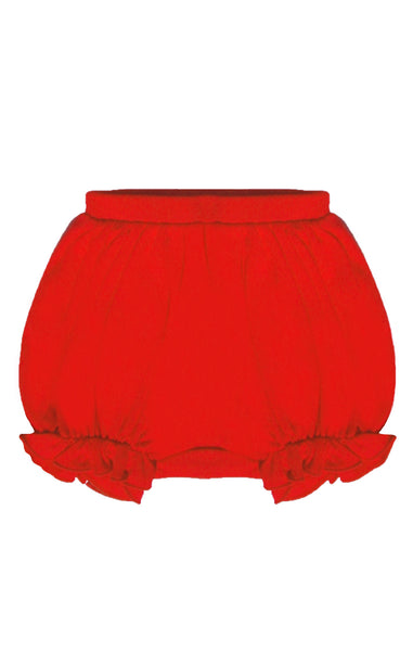 Lemon Loves Layette Red Bella Bloomers - JEN'S KIDS BOUTIQUE