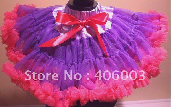 Princess Hot Pink and Purple Tutu Skirt - JEN'S KIDS BOUTIQUE