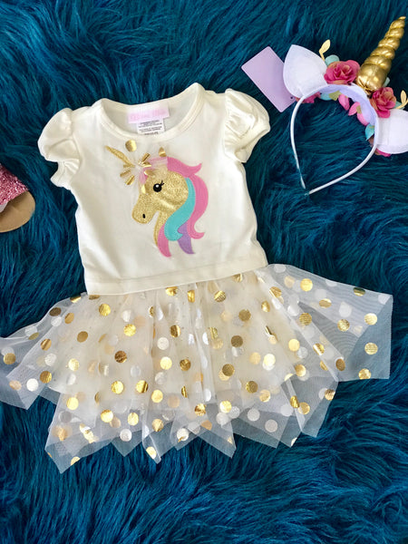 Fall Unicorn TuTu Applique Dress - JEN'S KIDS BOUTIQUE