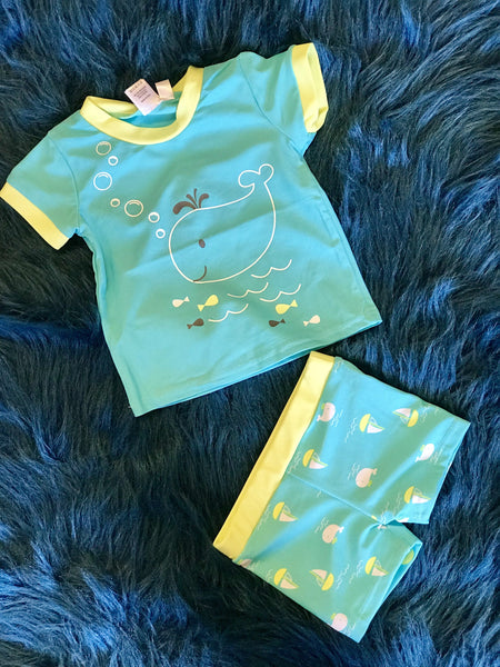 2018 Summer Cute Baby BoysSwimsuit Surfing 50+UV Protection Rash Guard - JEN'S KIDS BOUTIQUE