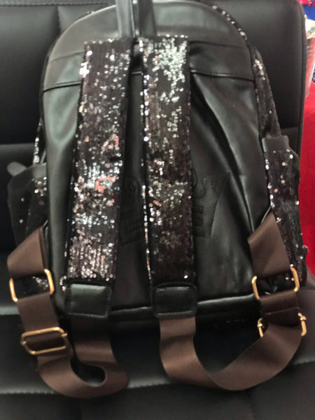 Princess sequin black backpack - JEN'S KIDS BOUTIQUE