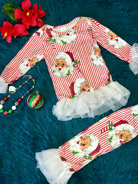 New Christmas Pajama Santa Set - JEN'S KIDS BOUTIQUE