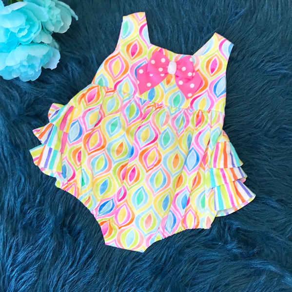 Bonnie Baby Rainbow Spring Infant Bubble ECL - JEN'S KIDS BOUTIQUE