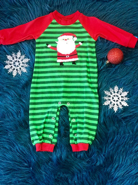 Wally & Willie Kriss Kringle Christmas Boys Holiday Long All CH - JEN'S KIDS BOUTIQUE