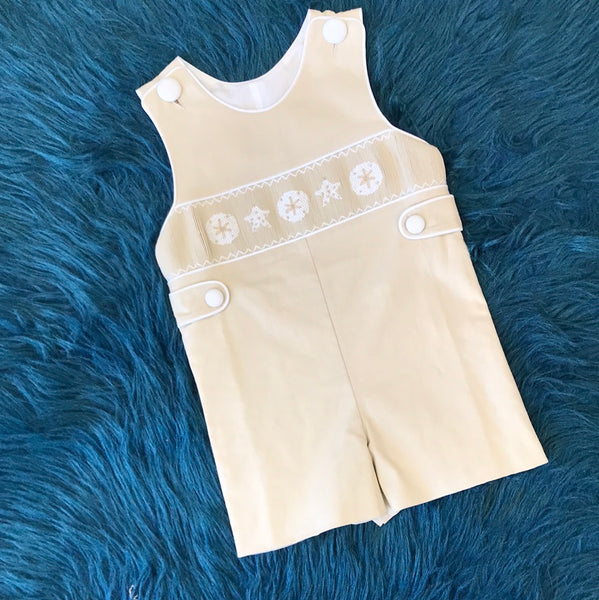 Three Sisters Summer Tan Beach Romper