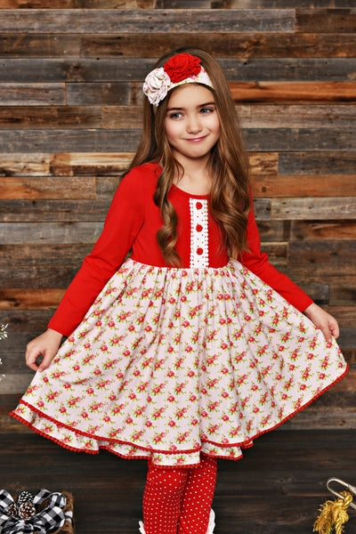 Valentines Swoon By Serendipity Fair Dress, C - JEN'S KIDS BOUTIQUE