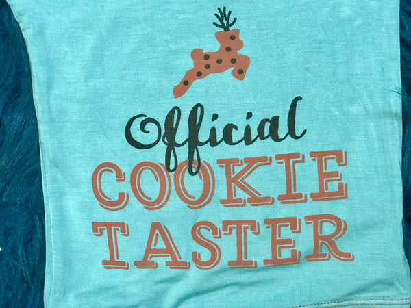 Christmas Christmas Cookies Long Sleeve Pajamas - JEN'S KIDS BOUTIQUE