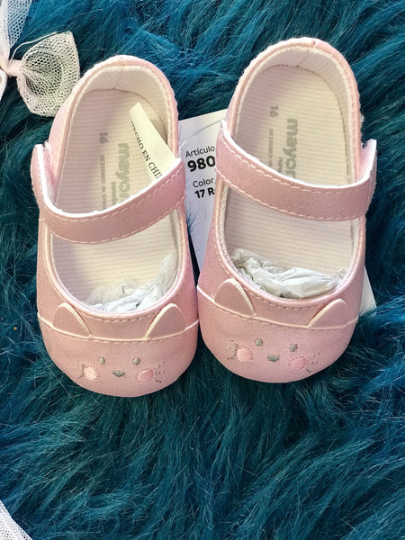 2018 Spring Mayrol Pink Bunny Baby Shoes - JEN'S KIDS BOUTIQUE