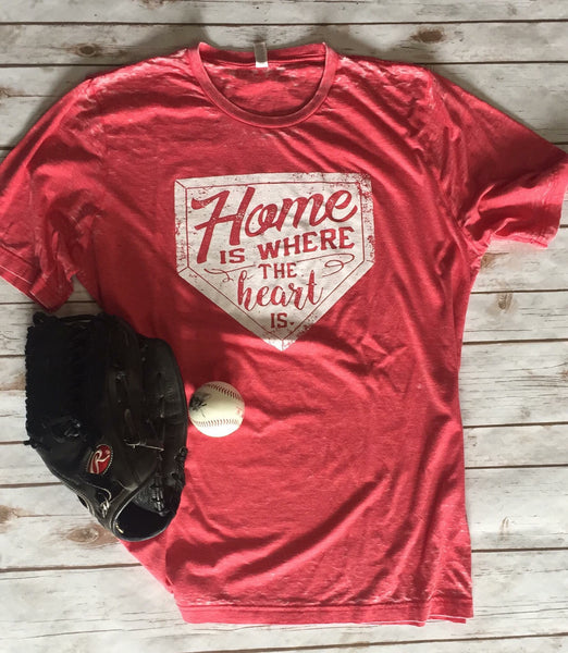 Home Is Where The Heart Is  T-Shirt - JEN'S KIDS BOUTIQUE