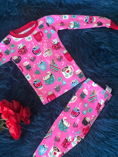 Christmas Pajamas Holiday Cocoa CH - JEN'S KIDS BOUTIQUE