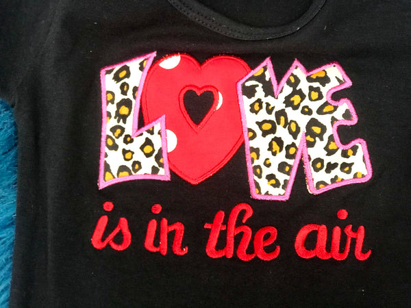 Princess Cheetah Love Valentines Pant Set - JEN'S KIDS BOUTIQUE