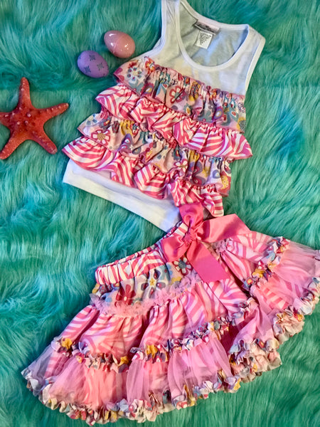 Lara Dare Spring Tutu Set - JEN'S KIDS BOUTIQUE