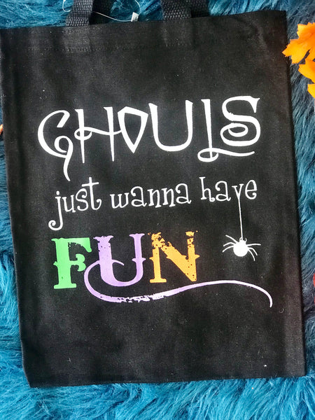 New Halloween Ghouls Want To Have Fun Treat Bag - JEN'S KIDS BOUTIQUE