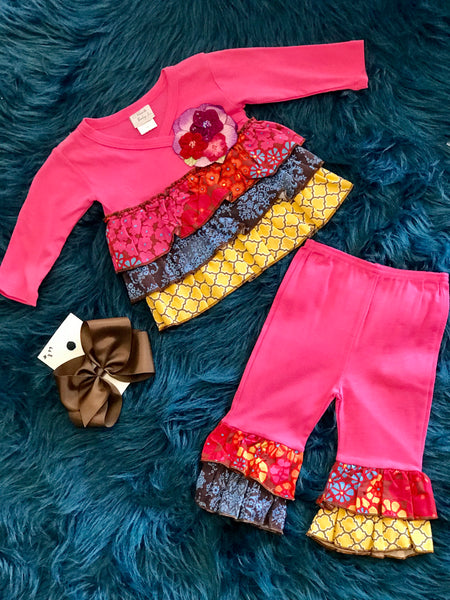 Haute Baby Free Spirit Pant Set C - JEN'S KIDS BOUTIQUE