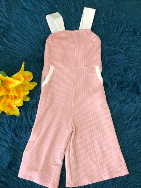 Isobella & Chloe Sweet Sugar & Sparkle Jumpsuit - JEN'S KIDS BOUTIQUE