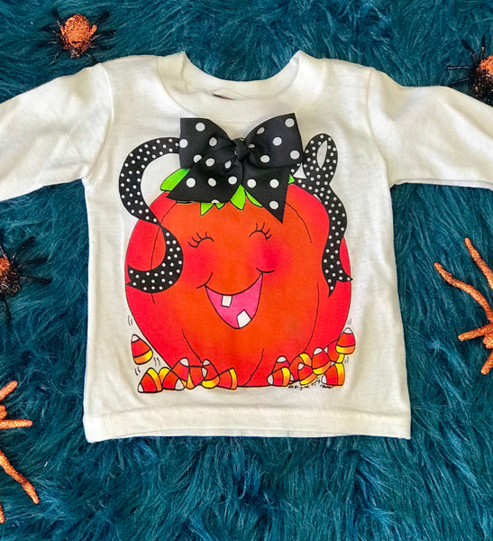 Fall Halloween I'm Yours Pumpkin Shirt - JEN'S KIDS BOUTIQUE