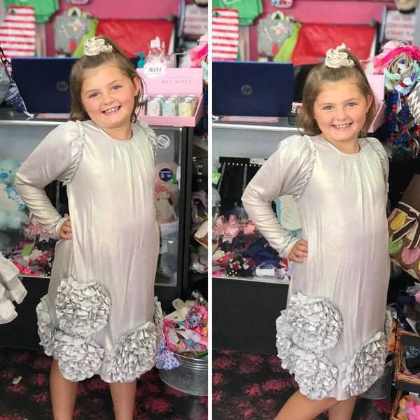 Isobella & Chloe New Fall & Holiday Cosmic Stunnng Dress - JEN'S KIDS BOUTIQUE