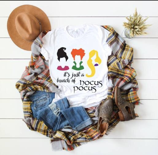 Fall Women's Halloween Hocus Pocus Bella Crew Neck - JEN'S KIDS BOUTIQUE