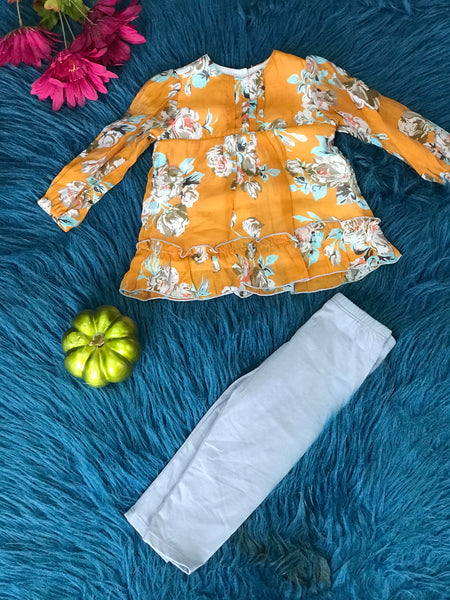 Isobella & Chloe New Fall Maisie Two Piece Set - JEN'S KIDS BOUTIQUE