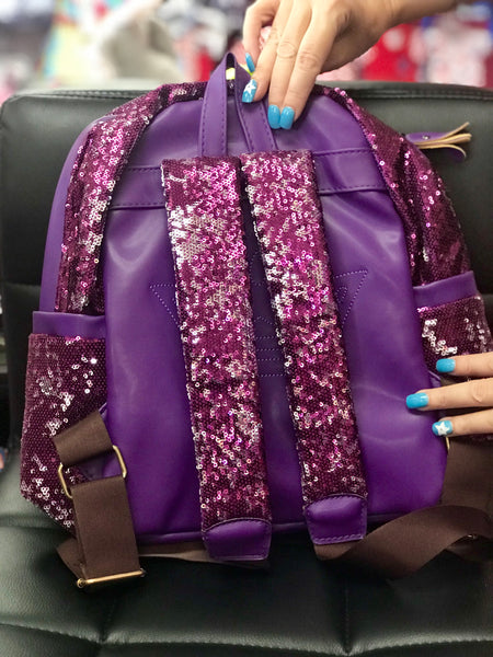 Princess purple sequin backpack - JEN'S KIDS BOUTIQUE