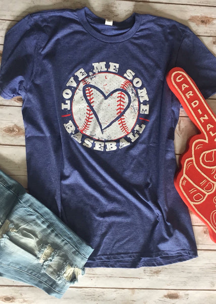 Love Me Some Baseball T-Shirt - JEN'S KIDS BOUTIQUE