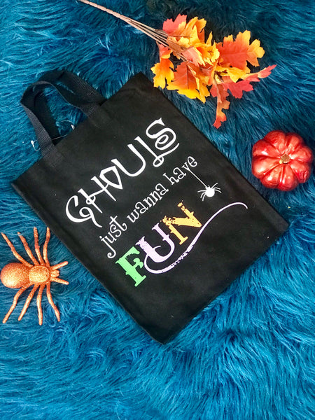 New Halloween Ghouls Want To Have Fun Treat Bag