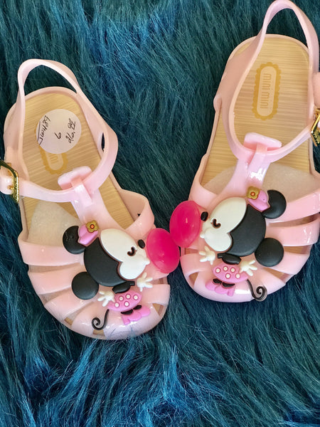 Summer Fun Minnie Jelly Shoes - JEN'S KIDS BOUTIQUE