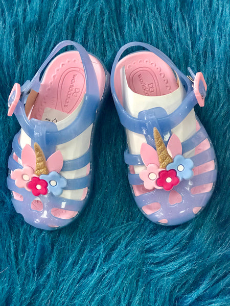 2019 Spring & Summer Unicorn Jelly Three Sole Shoes - JEN'S KIDS BOUTIQUE
