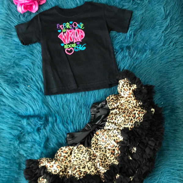 Princess Cheetah Print Tutu CLS