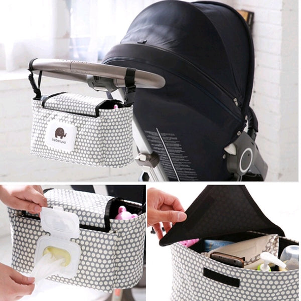 2018 Mommy Stroller Organizer & Diaper Bag Dots - JEN'S KIDS BOUTIQUE