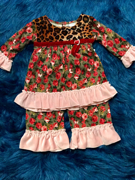 Haute Baby Fall Cozy Rosie Swing Set - JEN'S KIDS BOUTIQUE