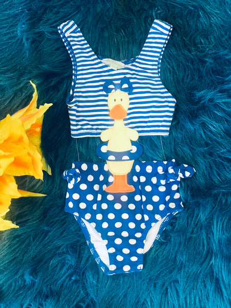 La Top All About The Duck One Piece Infant Swim Suit S - JEN'S KIDS BOUTIQUE