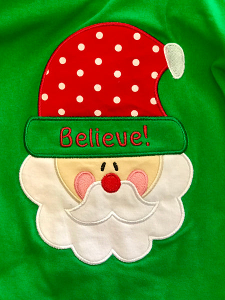 Christmas Believe In Santa Pant Set CH - JEN'S KIDS BOUTIQUE