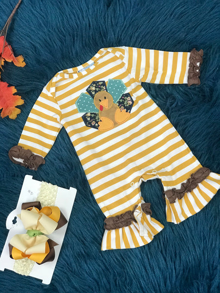 Three Sisters Fall Girls Turkey - JEN'S KIDS BOUTIQUE