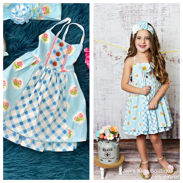 Swoon Baby Spring Prim Rose Easter Dress. - JEN'S KIDS BOUTIQUE