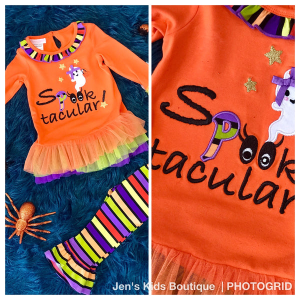 New Halloween Spook Tacular Ghost Set - JEN'S KIDS BOUTIQUE