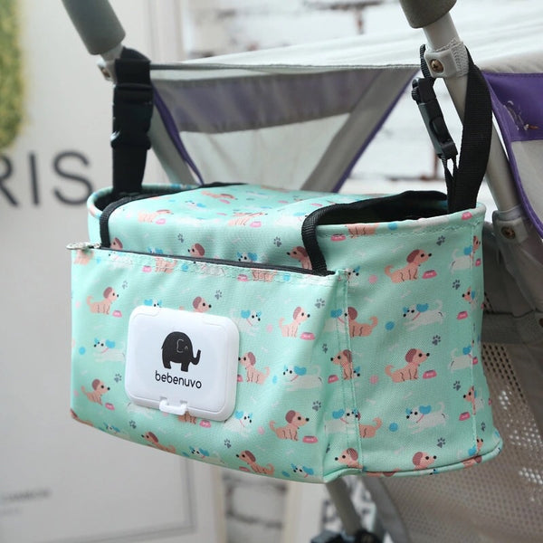 2018 Mommy Stroller Organizer & Diaper Bag Puppies - JEN'S KIDS BOUTIQUE