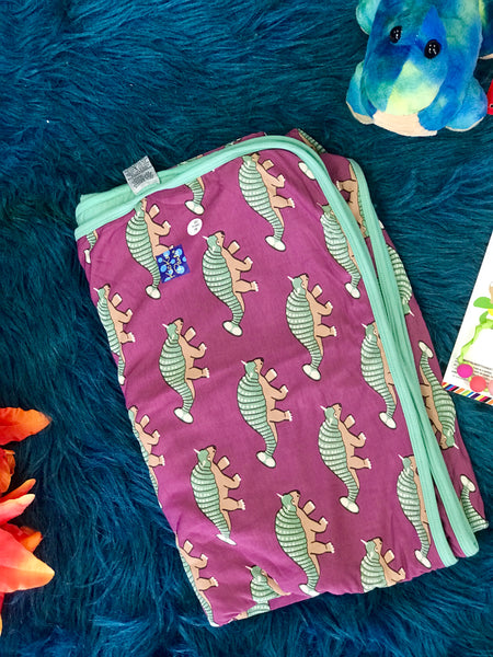 New Fall Kickee Pants Toddler Toddler Blanket (Euoplocephalus) - JEN'S KIDS BOUTIQUE