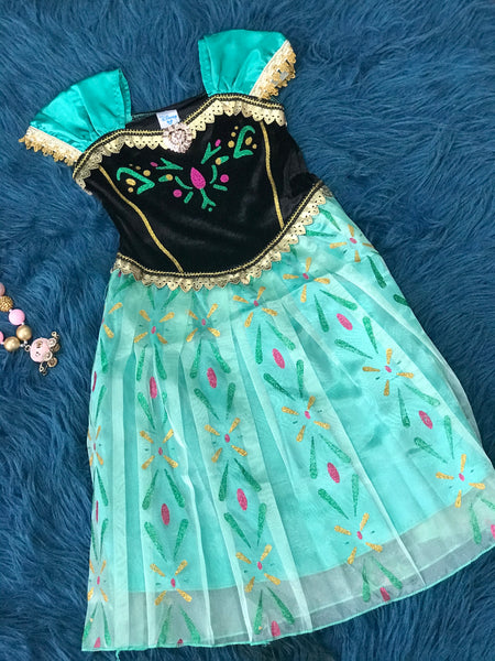 Frozen Character Anna Coronation Halloween Dress H