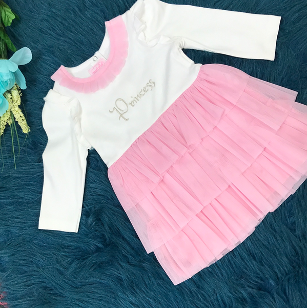 Mudpie Princess Pink Tutu Dress - JEN'S KIDS BOUTIQUE