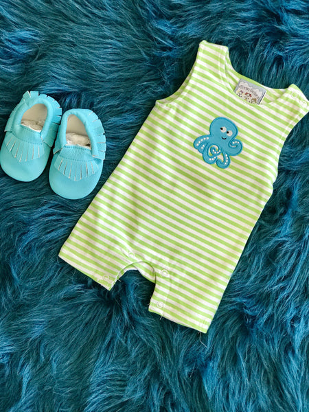 2018 Spring Three Sisters Octupus Infant Boys Jon Jon - JEN'S KIDS BOUTIQUE