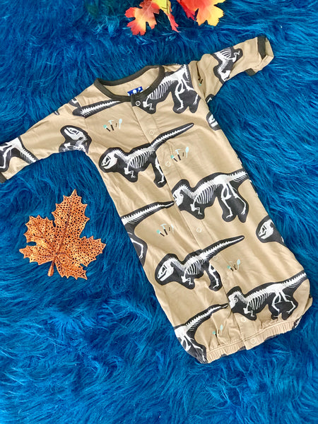 New Fall Kickee Pants Converter & E Knot Hat (Tanning T-Rex Dig)) - JEN'S KIDS BOUTIQUE