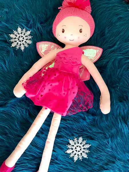 "30"" Inch Hot Pink Ballet Doll - JEN'S KIDS BOUTIQUE"