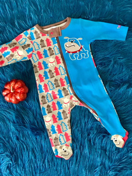 Sozo Boys Bull Dog Footie - JEN'S KIDS BOUTIQUE