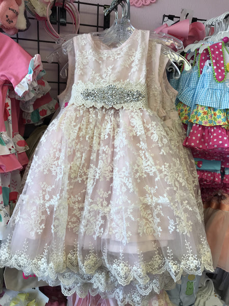 2018 Spring ML Kids Princess Lace Dress - JEN'S KIDS BOUTIQUE
