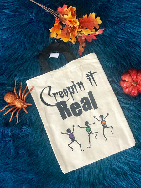 New Halloween Creeping It Real Treat Bag - JEN'S KIDS BOUTIQUE