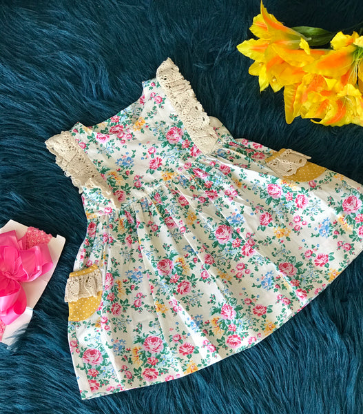 Summer Millie Jay Baby Rose Dress - JEN'S KIDS BOUTIQUE