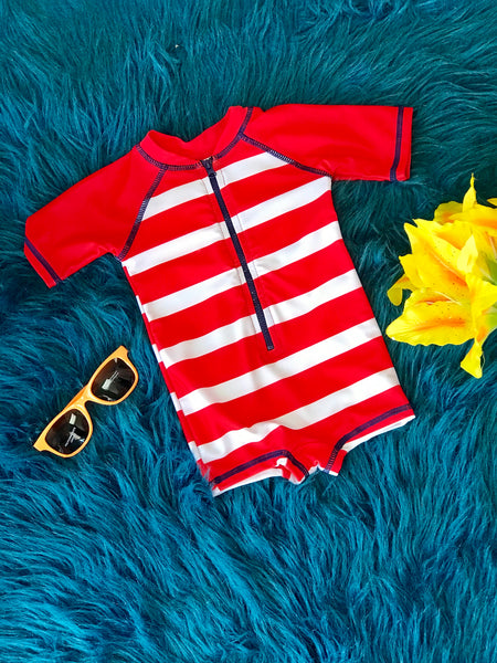 2019 Summer Mary Elyse Boys Rash Guard Swimwear Swimsuit - JEN'S KIDS BOUTIQUE